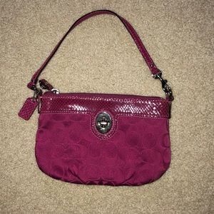 Coach mini bag
